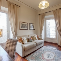 living room, rent home in rome