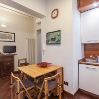 kitchen open space, rent home in rome